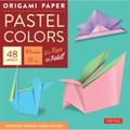 """Origami Paper - Pastel Colors - 6 3/4"""" - 48 Sheets"""