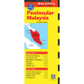 Peninsular Malaysia Travel Map Seventh Edition