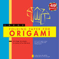 "Folding Paper for Origami - Large 8 1/4"" - 49 Sheets"