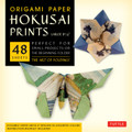 "Origami Paper - Hokusai Prints - Large 8 1/4"" - 48 Sheets"