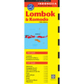 Lombok & Komodo Travel Map Fifth Edition