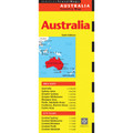 Australia Travel Map Sixth Edition