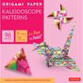 "Origami Paper - Kaleidoscope Patterns - 6"" - 96 Sheets"