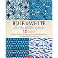 Blue & White Gift Wrapping Papers