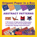 Origami Paper in a Box - Abstract Patterns