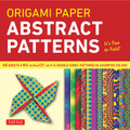 "Origami Paper - Abstract Patterns - 8 1/4"" - 48 Sheets"