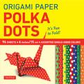 """Origami Paper - Polka Dots 6"""" - 96 Sheets (9780804846233)"""