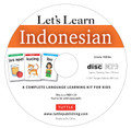Let's Learn Indonesian Kit