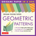 192 Origami Folding Papers in Geometric Patterns