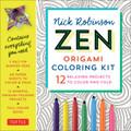 Zen Origami Coloring Kit