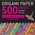 "Origami Paper 500 sheets Kaleidoscope Patterns 6"" (15 cm)"