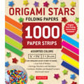 Origami Stars Papers 1,000 Paper Strips in Assorted Colors