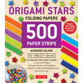Origami Stars Papers 500 Paper Strips in Assorted Colors
