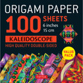 "Origami Paper 100 sheets Kaleidoscope 6"" (15 cm)"
