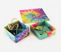 "Origami Paper 300 sheets Tie-Dye Patterns 4"" (10 cm)"
