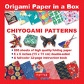 Origami Paper in a Box - Chiyogami Patterns