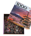 Japan's Mount Fuji in Springtime- 1000 Piece Jigsaw Puzzle