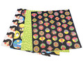 """Origami Paper 200 sheets Chiyogami Patterns 6 3/4"""" (17cm)"""