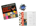"Origami Paper 200 sheet Japanese Washi Patterns 6 3/4"" 17 cm"