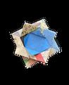 "Origami Paper 200 sheets Hiroshige Prints 6 3/4"" (17 cm)"