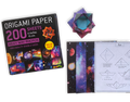 "Origami Paper 200 sheets Milky Way Photos 6"" (15 cm)"