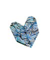 """Origami Paper 500 sheets Blue and White 4"""" (10 cm)"""
