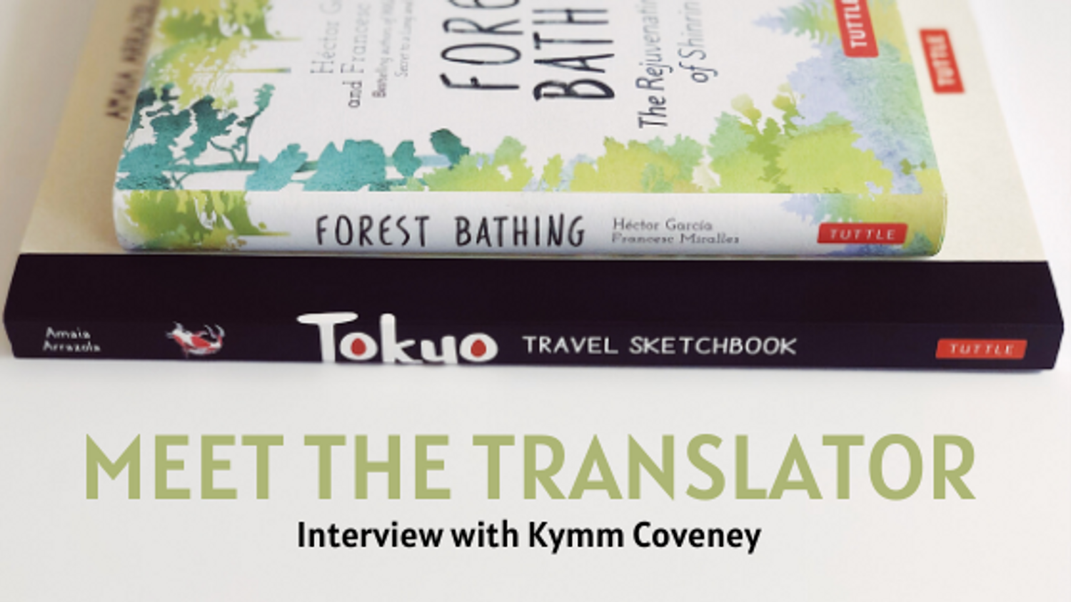Meet the Translator: Interview with Kymm Coveney