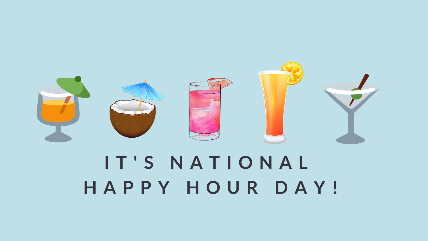 A Cocktail Recipe for National Happy Hour Day