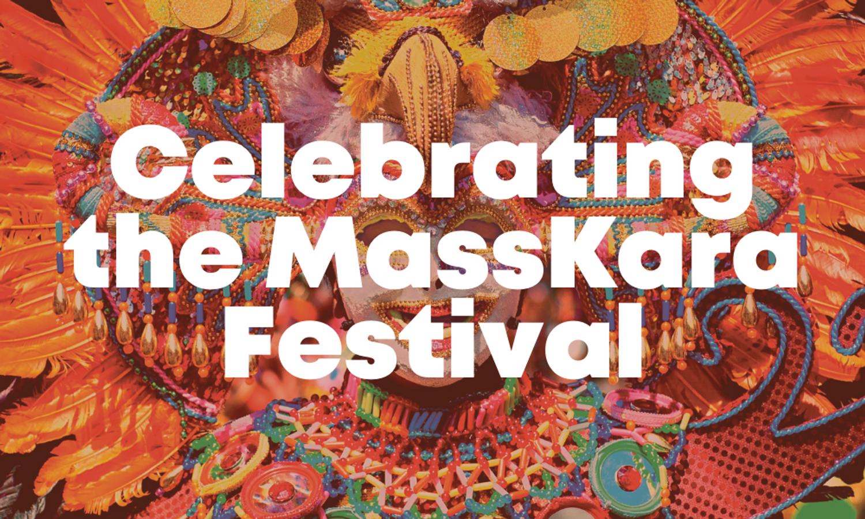 Celebrating the MassKara Festival
