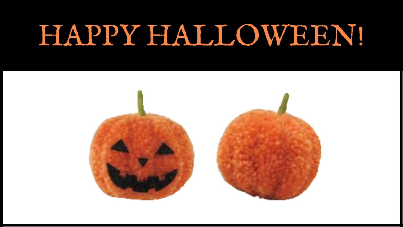 Make Your Own Pom Pom Pumpkins!