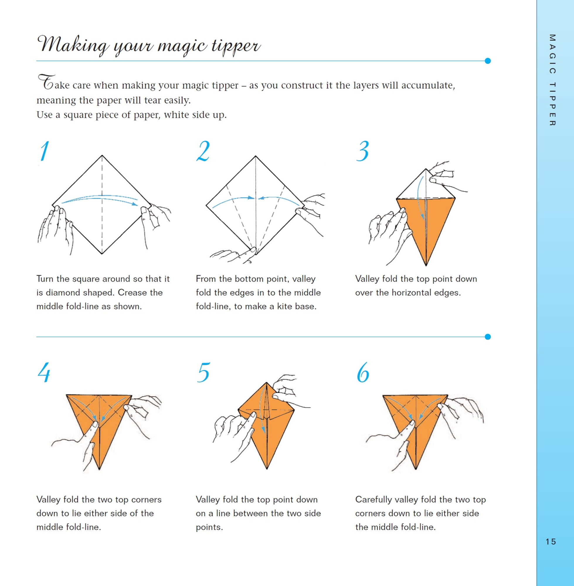 How to Make an Easy Origami Table | 2000x1958