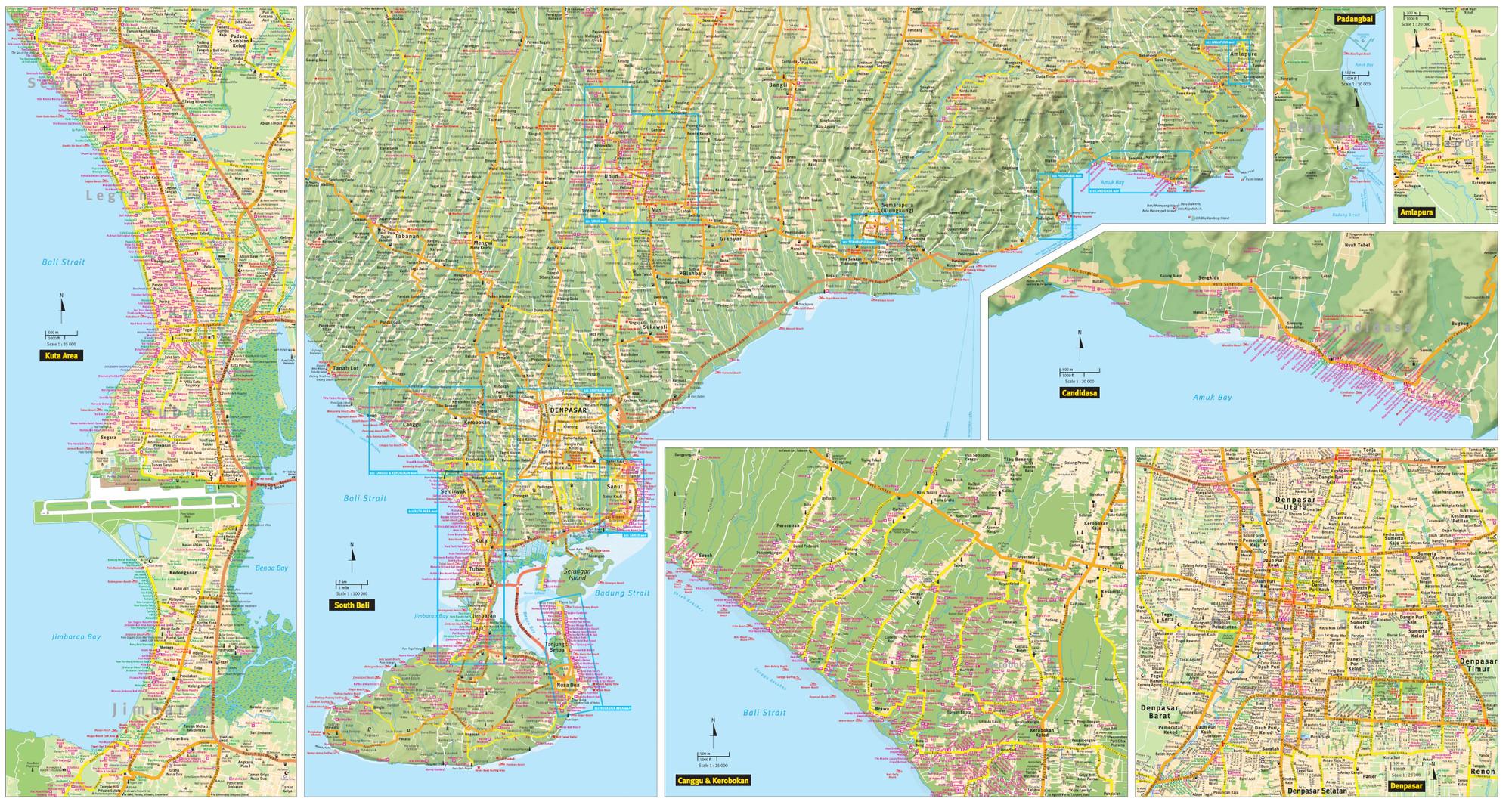 Bali Travel Map Ninth Edition on denpasar map, kuta map, bora bora map, china map, flores map, bali pictures, bhutan map, pacific map, japan map, kuala lumpur map, sulawesi map, new caledonia map, cambodia map, bali news, italy map, thailand map, cape town map, bali information, bali travel, java map, fiji map, world map, indonesia map, tahiti map,