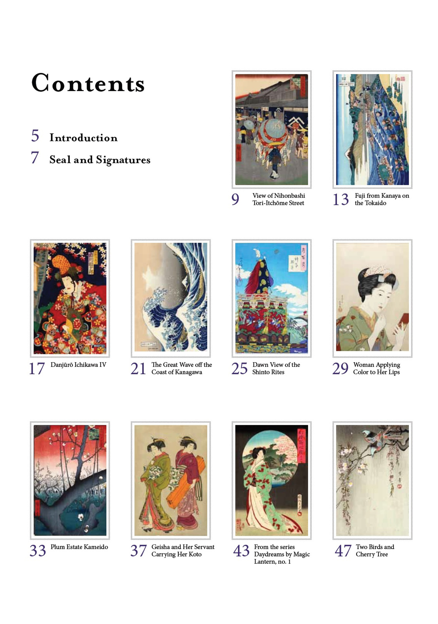 - Floating World Japanese Prints Coloring Book - Tuttle Publishing