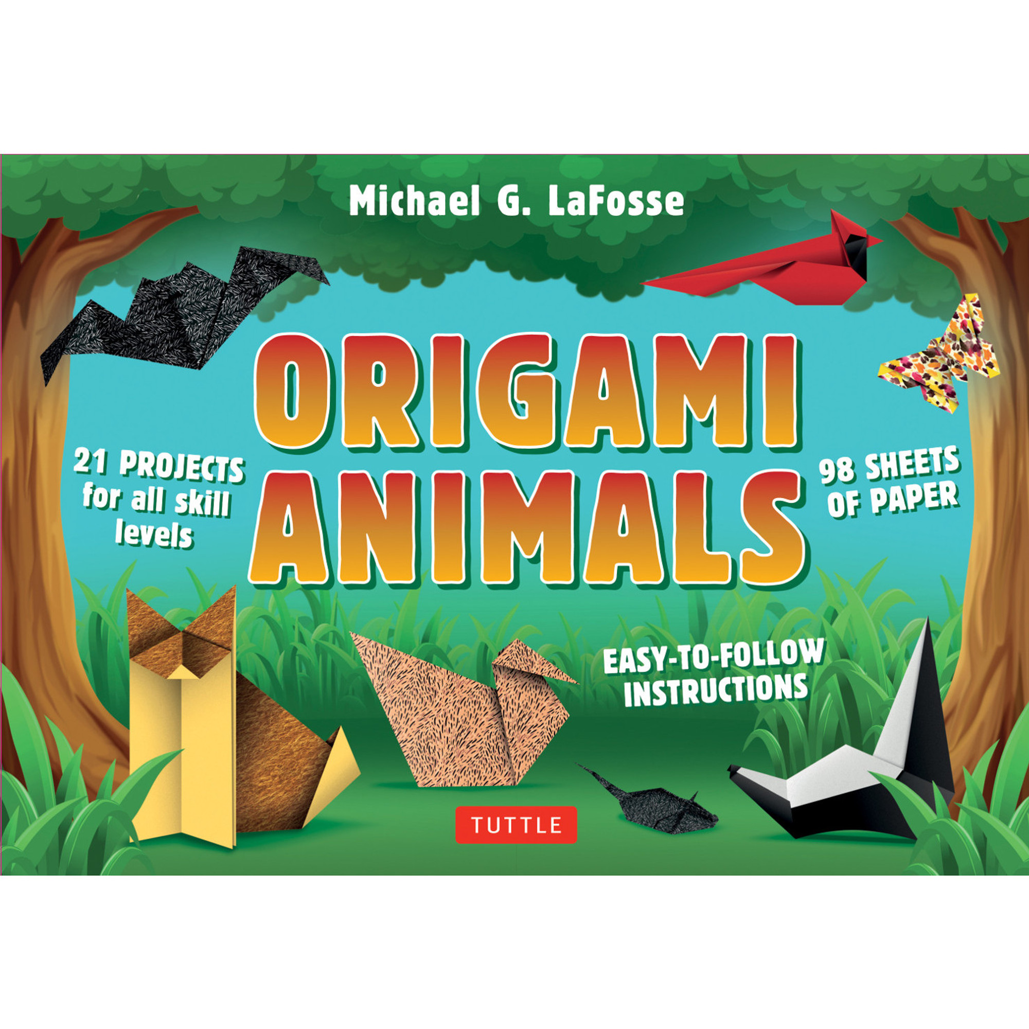 Origami fox easy tutorial zoo animals 3d instructions.Origami ...   2000x2000