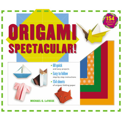 Origami Spectacular! Kit(9780804836227)