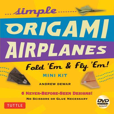 Simple Origami Airplanes Mini Kit