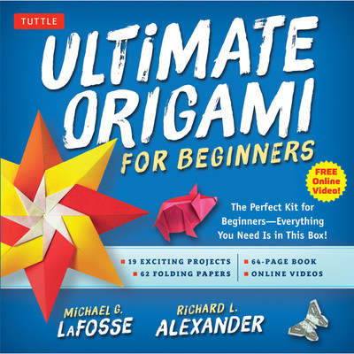 Ultimate Origami for Beginners Kit(9784805312674)