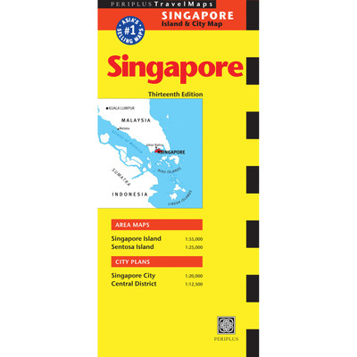 Singapore Travel Map Thirteenth Edition