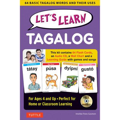 Let's Learn Tagalog Kit(9780804845748)