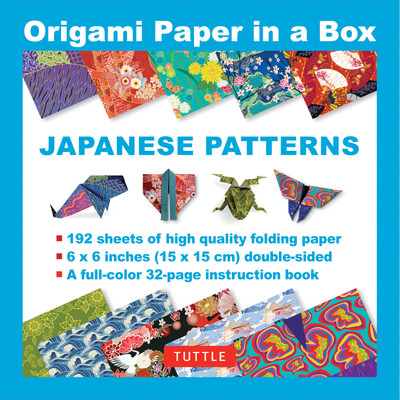 Origami Paper in a Box - Japanese Patterns