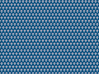 Blue & White Gift Wrapping Papers 12 Sheets