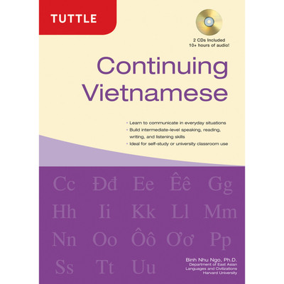 Continuing Vietnamese (Hardcover with disc)