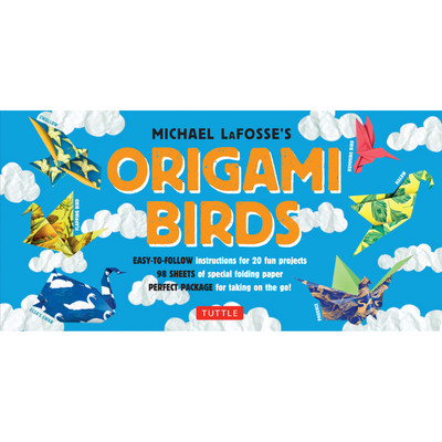 Origami Birds Kit (Book and Kit) (9780804846486)