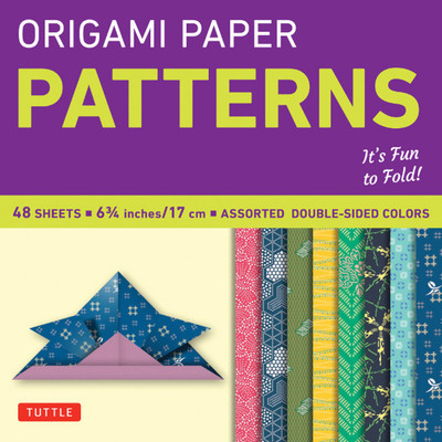 "Origami Paper - Patterns - Small 6 3/4"" - 49 Sheets"