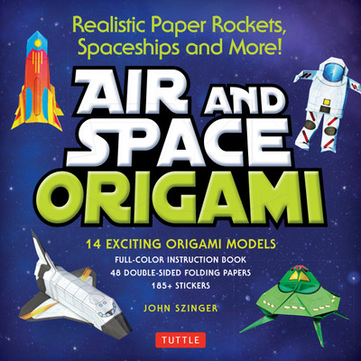 Air and Space Origami Kit (9780804849241)