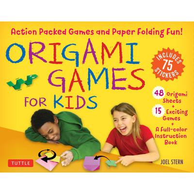 Origami Games for Kids Kit