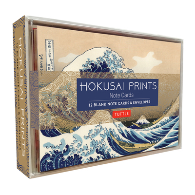 Hokusai Prints Note Cards