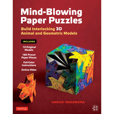Mind-Blowing Paper Puzzles Kit