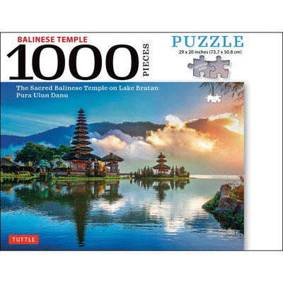 Balinese Temple Jigsaw Puzzle - 1,000 pieces