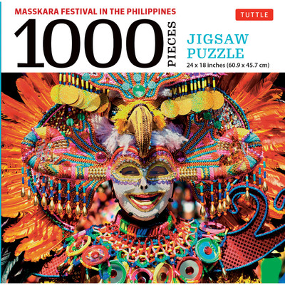 MassKara Festival, Philippines - 1000 Piece Jigsaw Puzzle
